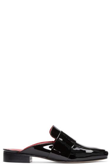 Dorateymur - Black Patent Leather Filiskiye Loafers