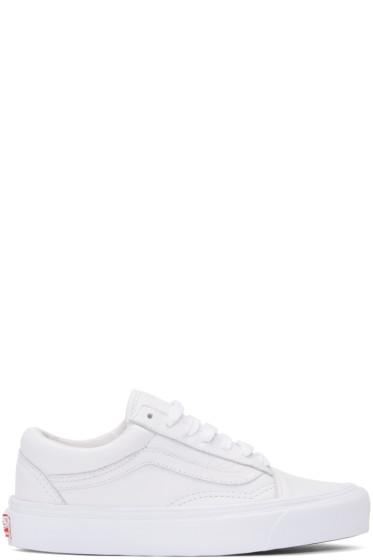 Vans - White OG Old Skool LX Sneakers