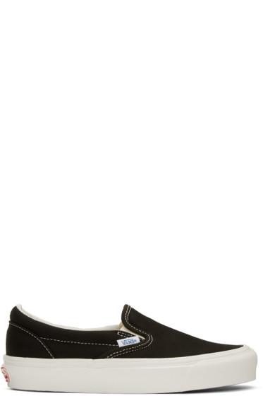 Vans - Black OG Classic LX Slip-On Sneakers