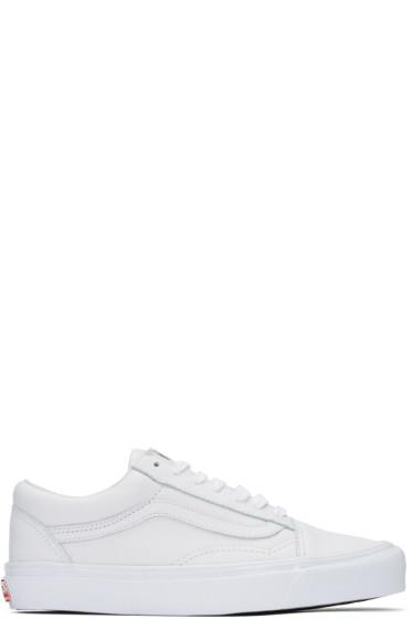 Vans - White UA OG Old Skool LX Sneakers
