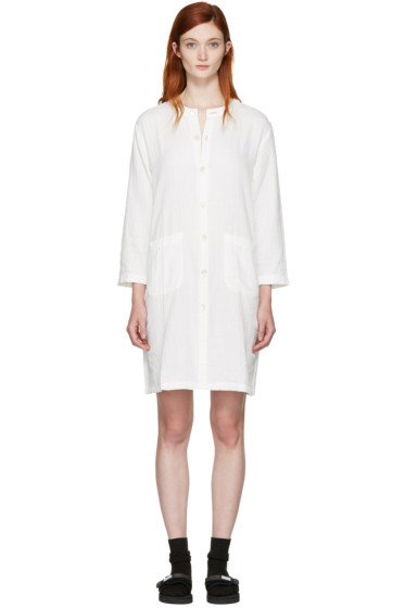 Blue Blue Japan - White Shirt Dress