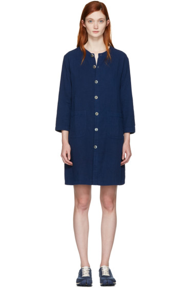 Blue Blue Japan - Indigo Shirt Dress