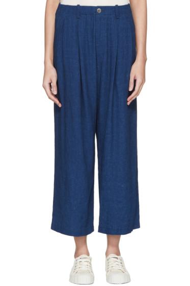 Blue Blue Japan - Indigo Wide Trousers