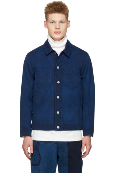 Blue Blue Japan - Indigo Short Jacket