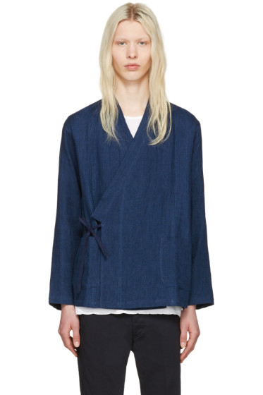 Blue Blue Japan - Indigo Haori Shirt