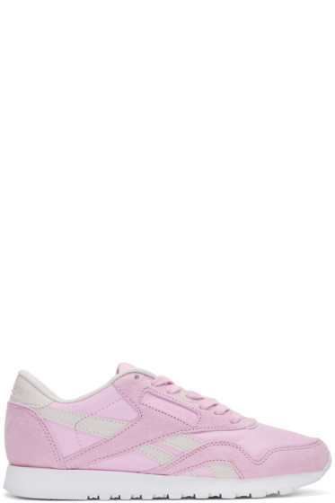 Reebok Classics - Pink FACE Edition Kindness Classic Sneakers