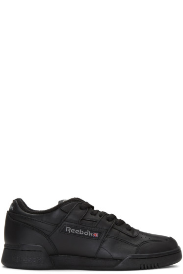 Reebok Classics - Black Vintage Workout Sneakers