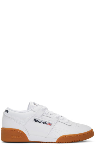 Reebok Classics - White Workout Sneakers