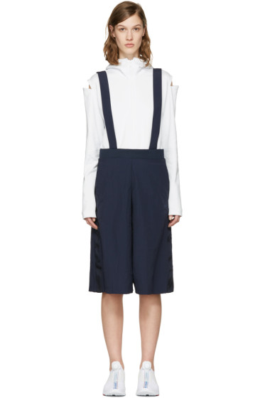 adidas Originals - Navy Shoulder Straps Culottes