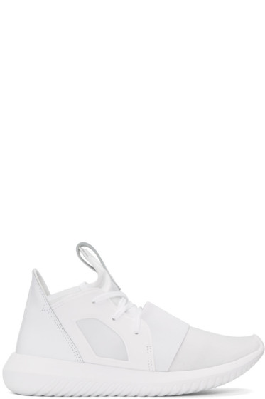 adidas Originals - White Tubular Defiant Sneakers