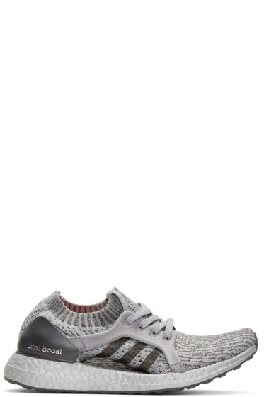 adidas Originals - Grey UltraBOOST X LTD Slip-On Sneakers