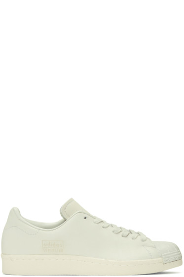 adidas Originals - Ivory Superstar 80s Clean Sneakers