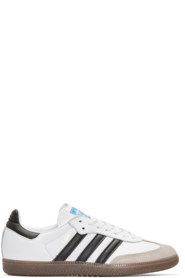 adidas Originals - White Samba OG Sneakers