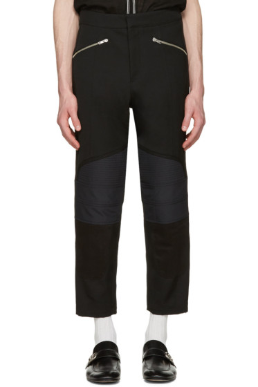 Wales Bonner - Black Georges Biker Trousers