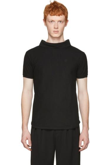 Telfar - Black Backwards Polo