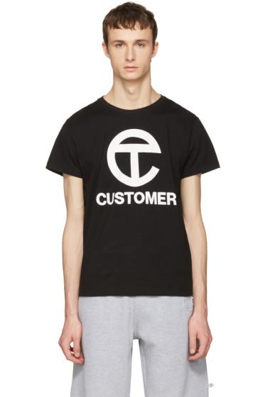 Telfar - Black 'Customer' T-Shirt