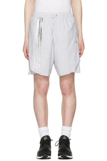 Adidas x Kolor - Grey Track Shorts
