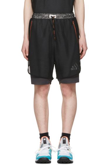 Adidas x Kolor - Black Climachill Shorts