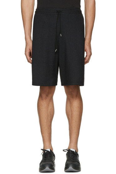 John Elliott - Black Raschel Shorts