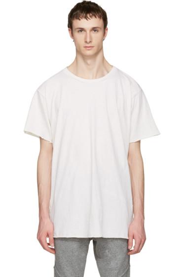 John Elliott - Ivory Anti-Expo T-Shirt