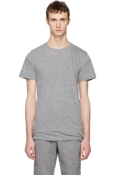 John Elliott - Grey Crew T-Shirt