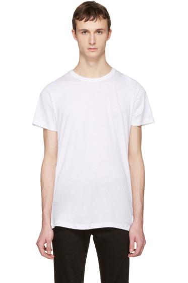 John Elliott - White Crew T-Shirt