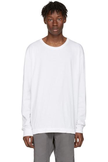 John Elliott - White Classic Mercer T-Shirt