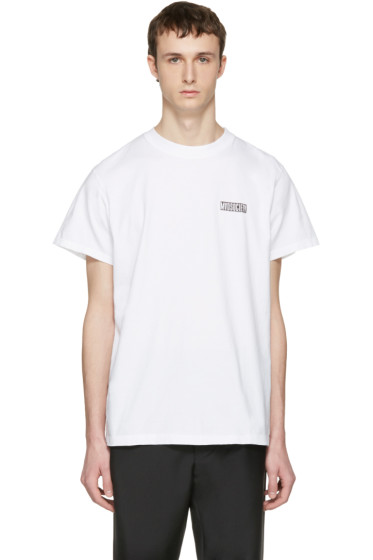 Noon Goons - White 'Mad Society' T-Shirt