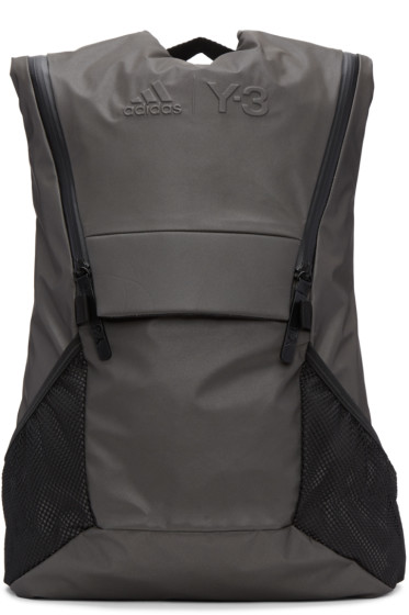 Y-3 SPORT - Grey Running Backpack