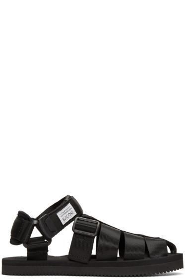Suicoke - Black Shaco Sandals
