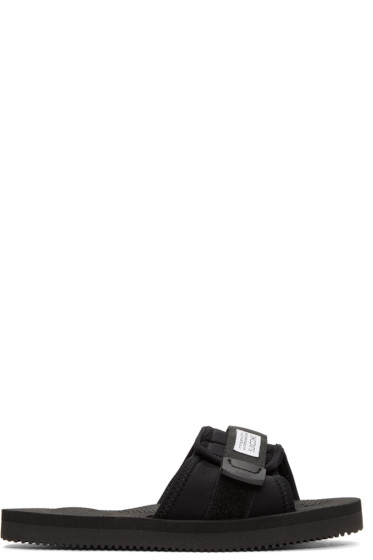 Suicoke - ブラック パドリ サンダル
