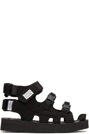 Suicoke - Black Boak Sandals