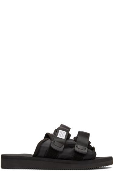 Suicoke - Black Moto Sandals