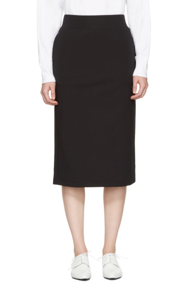 Hyke - Black Pencil Skirt