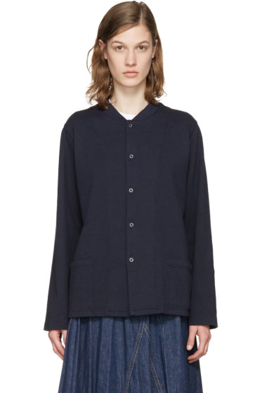 Chimala - Navy Snap Top Jacket