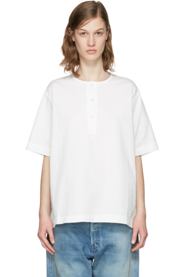 Chimala - Off-White Big Blouse