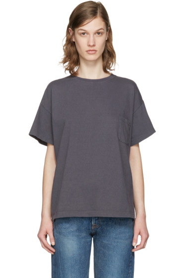 Chimala - Grey Pocket T-Shirt