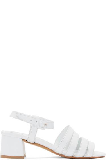 Maryam Nassir Zadeh - White Palma Low Sandals