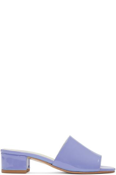 Maryam Nassir Zadeh - Purple Sophie Slide Sandals