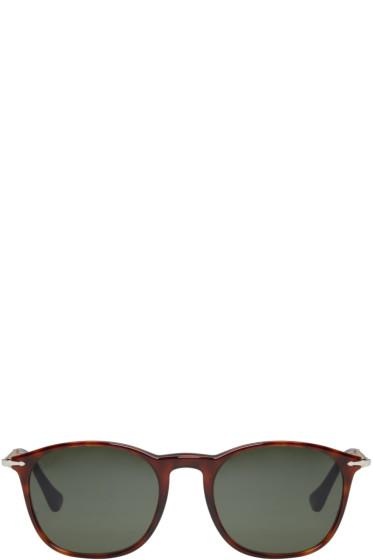 Persol - Tortoiseshell Square Sunglasses