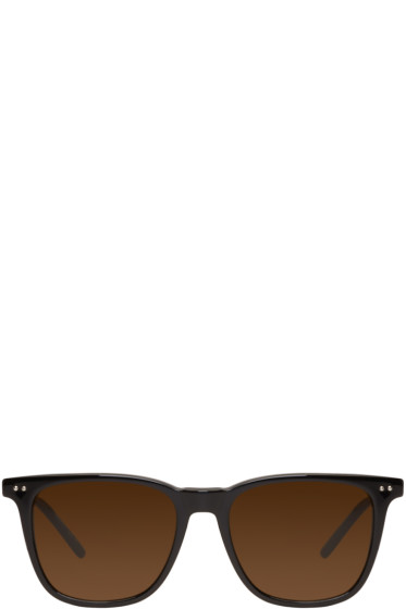 Bottega Veneta - Black Classic Square Sunglasses
