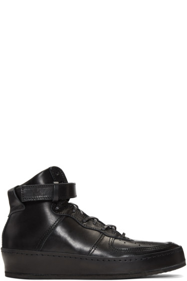 Hender Scheme - Black Manual Industrial Products 01 High-Top Sneakers
