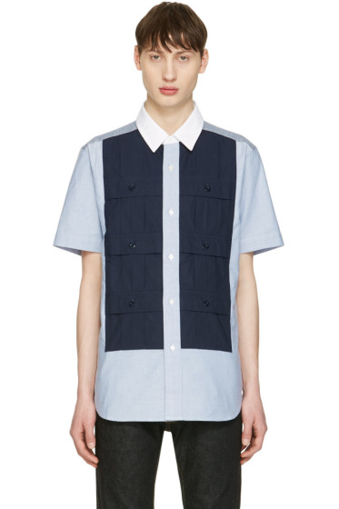 Ganryu - Blue Multi Pocket Shirt