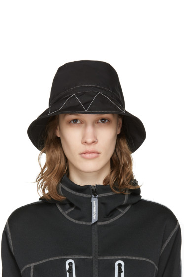 and Wander - SSENSE Exclusive Black Bucket Hat