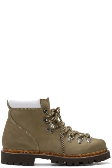 and Wander - Beige Paraboot Edition Trekking Boots