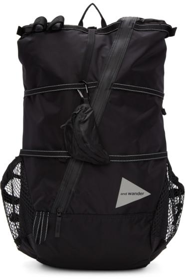 and Wander - Black 40L Backpack