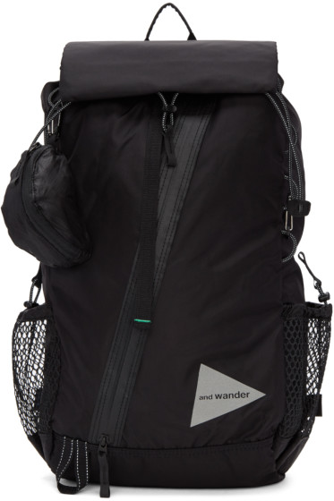 and Wander - Black 30L Backpack
