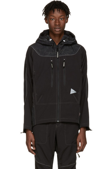 and Wander - Black Schoeller Reflect Jacket