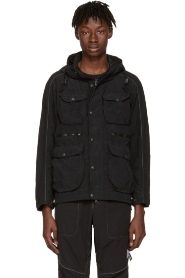 and Wander - Black Garment-Dyed Jacket