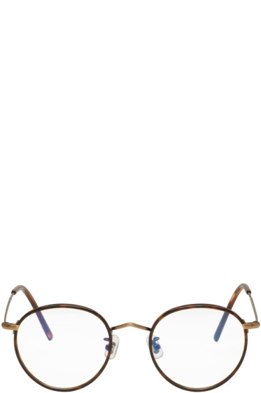 Gentle Monster - Tortoiseshell & Black 14 Proud Glasses